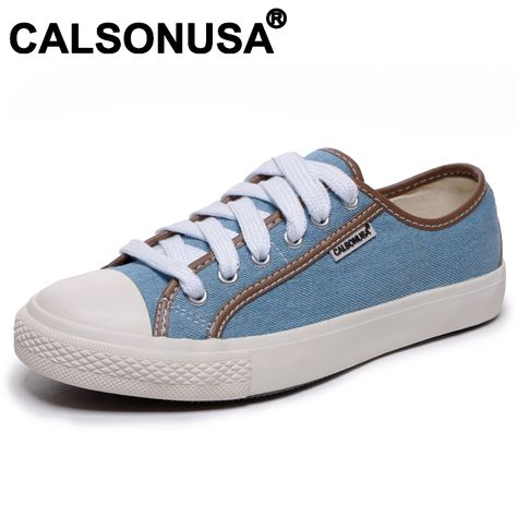 69f46275369 2013 Calsonusa Brand Lovers Womens Fashion Flats Denim Casual Canvas Shoes  Low Breathable Sneakers on AliExpress.com.  18.00