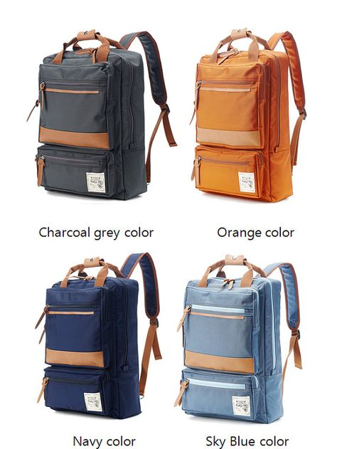 b942b75d5 75->67.5 -Two front Zipper pocket Backpack (Black) in 2019 | Dope ...