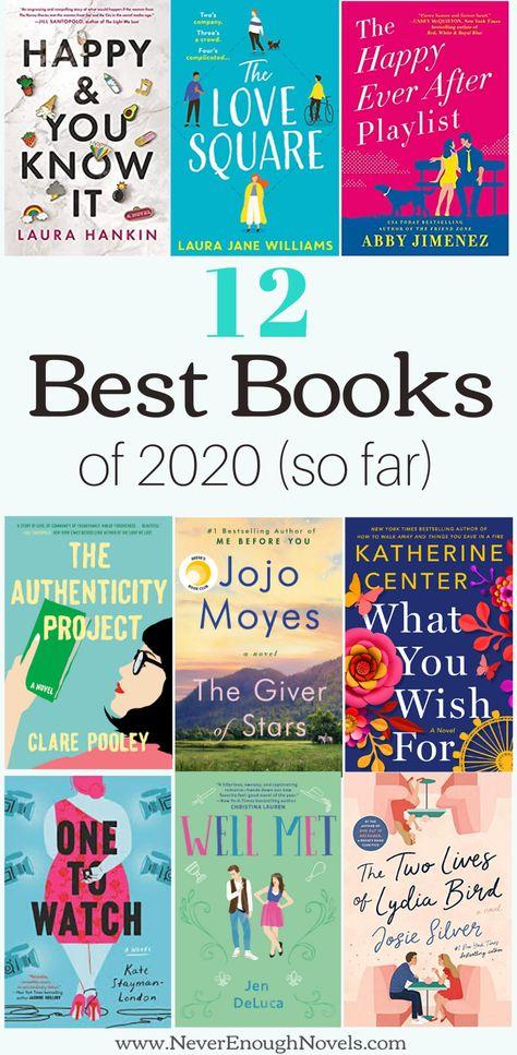 Best Novels of 2020 So Far - Never Enough Novels