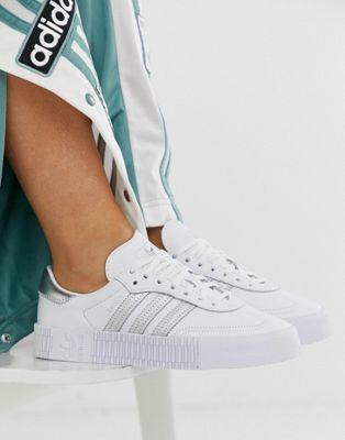 Adidas rose argentato