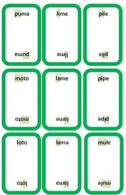 """Jeu """"le magicien des mots"""" pour améliorer la vitesse de lecture de mots composés de syllabes simples"""