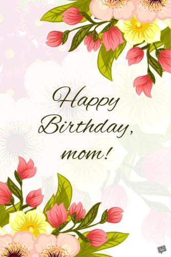 Happy Birthday Mom Alles Gute Zum Geburtstag Mutter