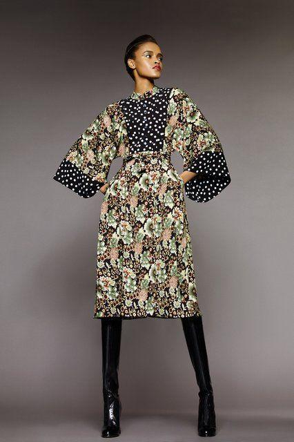 Duro Olowu Modernizes Kimono-Style Looks for Fall 2015 - Vogue