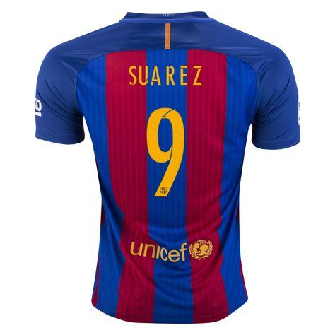 designer fashion discount shop super popular Nike Luis Suarez Barcelona Home Jersey 16/17 | Products ...