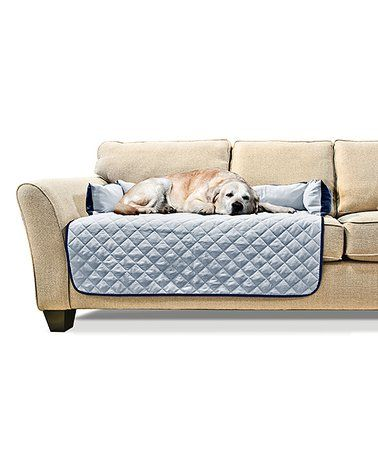 Loving This Navy Light Blue Large Sofa Buddy Pet Bed Furniture