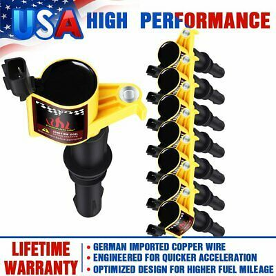 Ad Ebay 8x Dg511 Ignition Coils For Ford F 150 Expedition 4 6l 5 4l Fd508 2004 2005 2008 Ford Lincoln Mercury Lincoln Mercury Ignition Coil