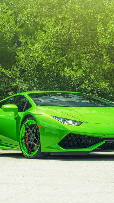 Lamborghini Huracan Green Iphone Wallpaper Wallpaper App