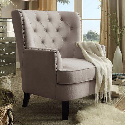 ShopStyle Look by Stacibeth featuring Laurel Foundry Modern Farmhouse Ivo Wingback Chair Upholstery Living Room Chairs, Wingback Chair, Contemporary Accent Chair, Furniture Sale, Furniture, Accent Furniture, Club Chairs, Armchair, Living Room Furniture
