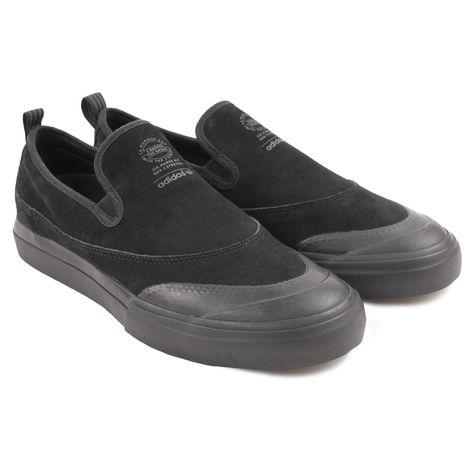 Matchcourt Slip Shoe in Core Black Core Black Dark Grey