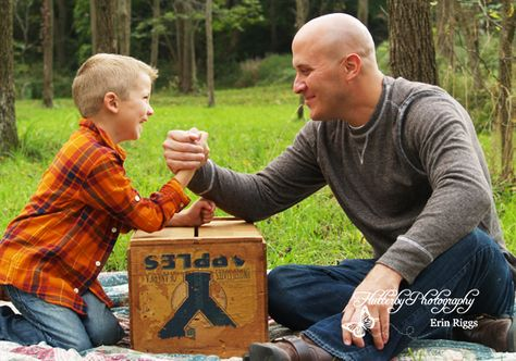 Father/ Son Picture ~ Flutterby Photography Erin Riggs