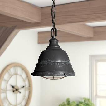 Elinna 1 Light Dome Pendant Lantern Lights Pendant Lighting Light