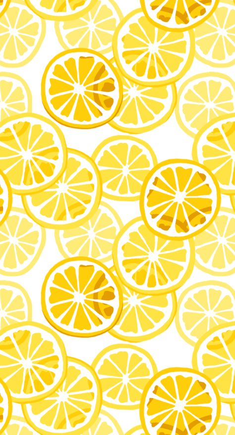 Job Discover Repeat Citrus Pattern: Lemons Digitally drawn yellow lemon repeat pattern made with procreate and photoshop. Cute Wallpaper Backgrounds, Pretty Wallpapers, Funny Wallpapers, Wallpaper Quotes, Summer Backgrounds, Phone Backgrounds, Phone Wallpapers, Iphone Background Wallpaper, Aesthetic Iphone Wallpaper