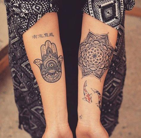 #Tattoo für #Mädchen #piercing #tattooideen #fashion ✎