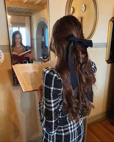 Hair Inspo, Hair Inspiration, Hair Dos, Your Hair, Hair Ribbons, Aesthetic Hair, Grunge Hair, Dream Hair, Gorgeous Hair