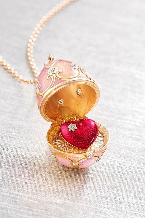Fabergé egg - the original easter egg with a surprise inside