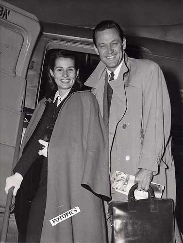 William Holden and Brenda Marshall (1961)