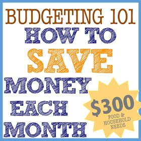 Budgeting 101: Monthly Grocery Shopping