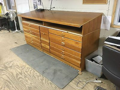 Wood Drafting Table, Flat File Storage Drawers, File Drawers And Storage  Shelf | Land Dimensions | Pinterest | Wood Drafting Table, Storage Drawers  And ...