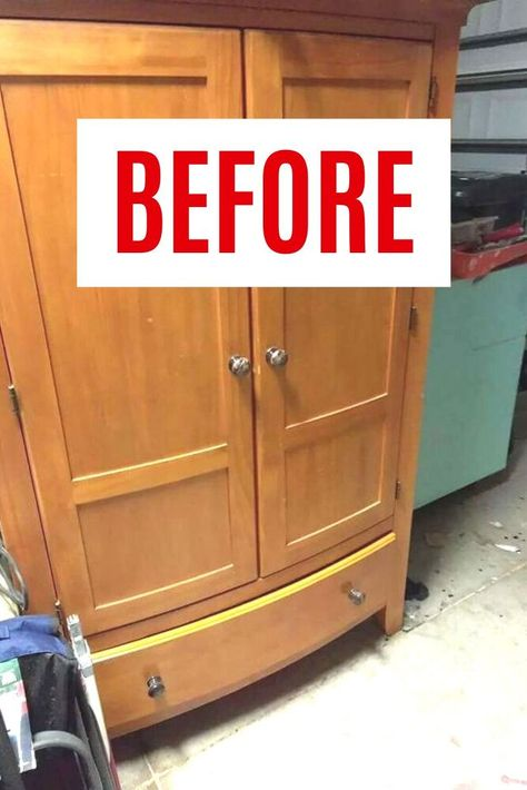We love upcycled furniture projects! these upcycled tv cabinets are a great way to decorate your bedroom, living or kitchen so check out the before and after painted tv cabinet makeover ideas.