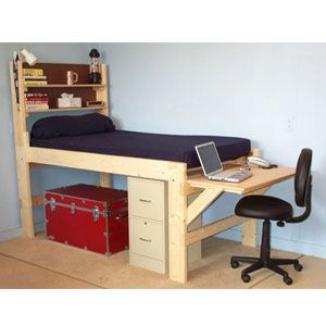 The Brute Solid Wood All Sizes Adult High Riser Bed 1000 Lbs Wt