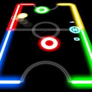 Glow Hockey 1 3 4 Mod Apk Hack Unlimited Download Free