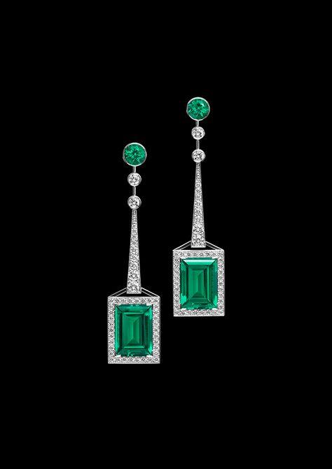 Atelier Swarovski Fine Jewellery collection Mosaic earrings