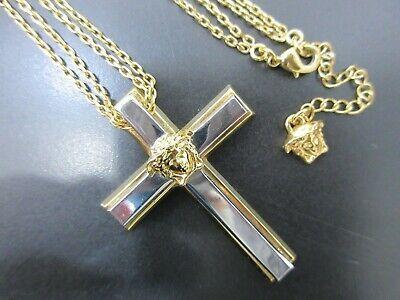 versace cross chain