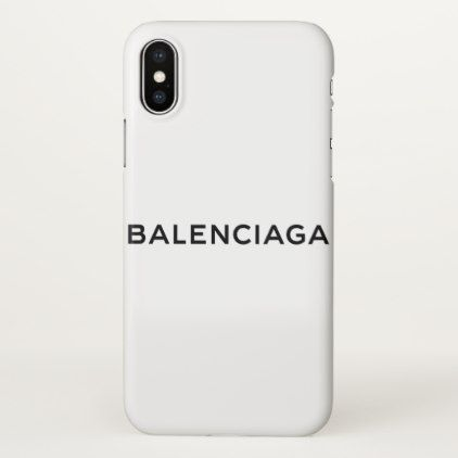 new concept d1a55 dedb8 Custom Balenciaga iPhone X Glossy Case - luxury gifts unique special ...