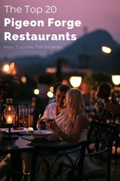 These top rated restaurants in Pigeon Forge TN, Tennessee, USA are budget friendly and offer a variety of cuisine to to please your entire group! A visit to one of these cafes will truly complete your Smoky Mountains vacations! #pigeonforge #gatlinburg #foodietravel #smokymountains #USAFoodie
