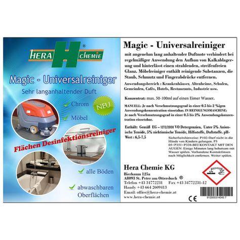 Magic Universalreiniger Duftreiniger (Flächen Desinfektionsreiniger)
