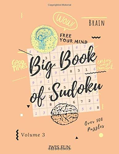 Download Pdf Big Book Of Sudoku Over 500 Puzzles Volume 3 Six Puzzles Per Page 2x Hard Free Epub Mobi Ebooks In 2020 Big Book Free Mind Books To Read