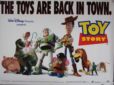 Toy Story Original Vintage Film Poster Original Poster Vintage Film And Movie Posters Film Posters Vintage Vintage Film Toy Story