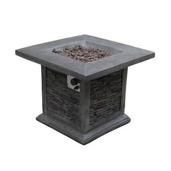 Steel Propane Fire Pit Table In 2020 Propane Fire Pit Table Gas Fire Pit Table Gas Firepit