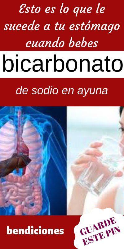bicarbonato para el ardor estomacal