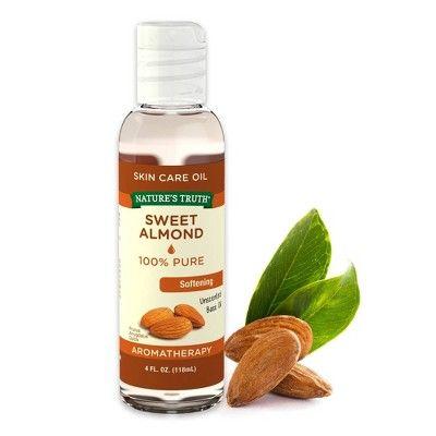Nature S Truth Sweet Almond Aromatherapy Skin Care Essential Oil 4 Fl Oz Aromatherapy Skin Care Essential Oil Skin Care Oil Skin Care