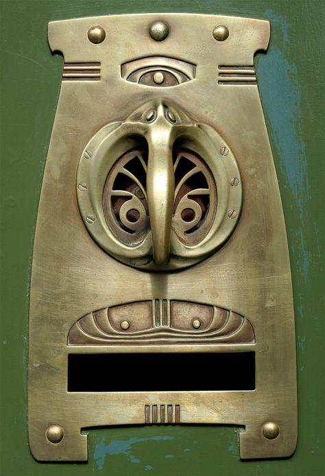 Art Nouveau Door Handle - @~ Mlle