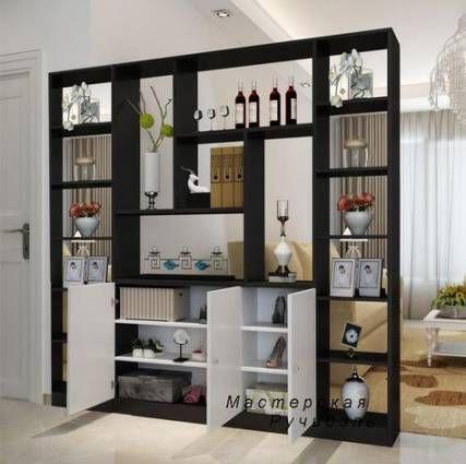 39 Ideas For Wall Partition Shelf Interior Design Wall Ide Dekorasi Rumah Ide Apartemen Ide Ruang Keluarga