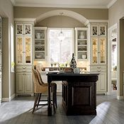 Amazing Plaza Maple Amaretto Crème Glaze With Plaza Oak Chocolate By Thomasville  Cabinetry