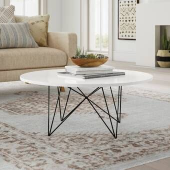 Alcott Coffee Table Stone Coffee Table Contemporary Coffee