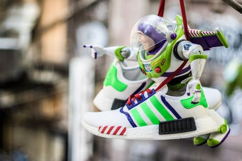 Image of Buzz Lightyear NMD   Diy shoes