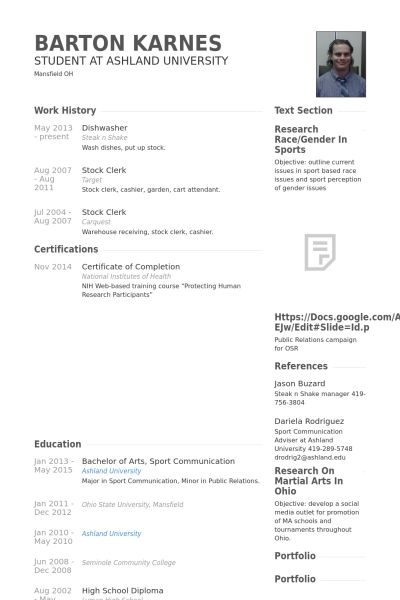 warehouse order selector Resume example Resume Wizards - breakfast attendant sample resume