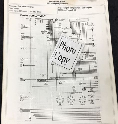 1983 Ford F150 Wiring Diagram Pictures 1983 Ford F150 Wiring