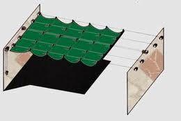 como hacer un toldo para el patio
