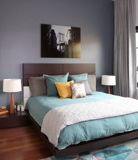 Bleu Vert Gris Con Imagenes Colores Para Dormitorio