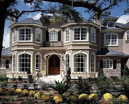 Plan 63145HD: Magnificent European Design. Big Houses ExteriorLuxury Homes  ...