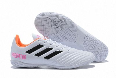 60e80626848f 2018 FIFA World Cup Russia Adidas Predator Tango 18 4 IN Turf Soccer Mens  Shoes White Black Orange Pink Factory Outlet