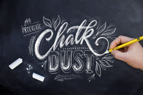 Everything you need to create your own stunning chalkboard pieces without getting yourself cover in white dust on @creativemarket. Digital design goods for personal or commercial projects. Graphic design elements and resources.