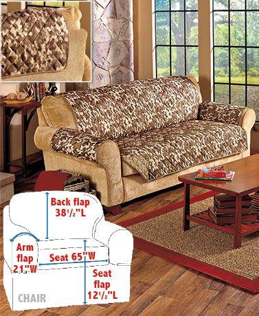 Reversible Camo Furniture Covers, Camo Furniture Covers