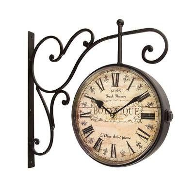 Andrewson Bicycle Wall Clock Brown Wall Clocks Clock Wall Clock Design