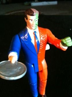 Is wind-up Harvey Dent good or evil? New post in DC Comics Superheroes series!